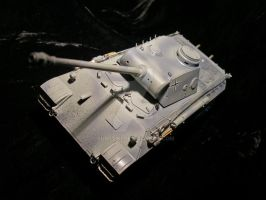 Tank 13 - Panther Ausf. D by SurfTiki