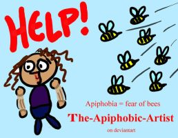 Fear of Bees by The-Apiphobic-Artist