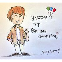 Happy birthday Johnny Boy! by thaynaitor