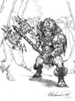 Burl the Barbarian by MatesLaurentiu