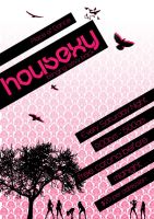 Housexy Poster 1 by musicnation