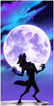 10252014 Lycanthrope by KenDraw