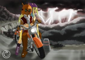 Lightning Chaser by Dayu