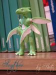 Pokemon: #123 Scyther - Fan Sculpture [Photo #1] by Sasha-Raskolnikova