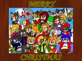 Merry Christmas 2010 by EUAN-THE-ECHIDHOG