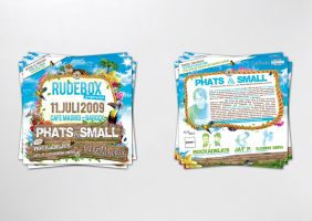 rudebox junglemania flyer by homeaffairs