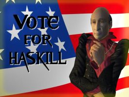 Haskill for President by Hashakgig1106