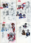 JEkyll and Hyde sketches by SpiralStaircasesEatU