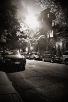 Upper westside at night by stareater