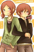 Lovely Complex: You + Me by Cooro-kun