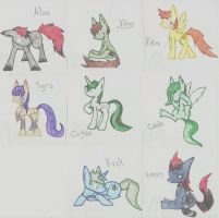 Team Corro MLP by mousie242