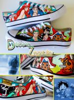 One Piece shoes by Raw-J