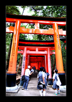 Fushimi Inari Shrine - Kyoto by rikachu426