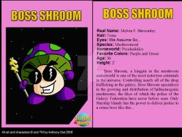 Boss Shroom Card by Gummibearboy