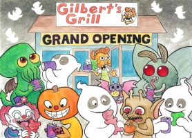 Gilbert's Grill by Cattype