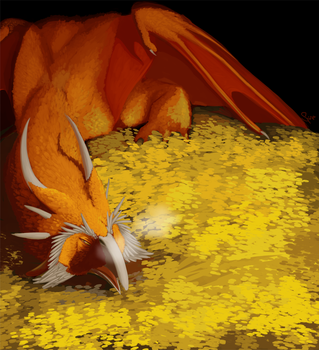 Smaug by HaanPere