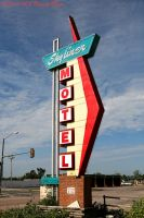 Skyliner Motel Route 66 by rjcarroll