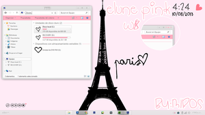 Elune Pink tema w8 ~ Agradecimiento 150 watchers by craftingandmore