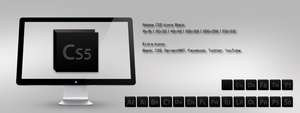 Adobe CS5 Icons Black by m-trax