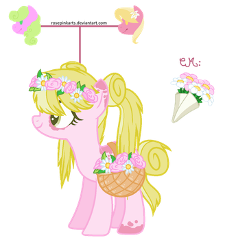 Flora The Flower -BPNGO by RosePinkArts