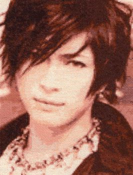 Gackt -  Cross Stitch by shingorengeki