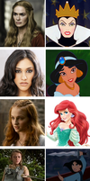 Game of thrones meets Disney: part five by SingerofIceandFire