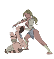 gladiatrix defeated by julianapostata