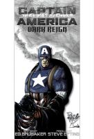 Captain America Cover by NineteenPSG