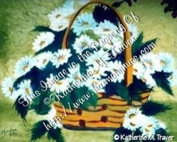 Basket of Daisies by Katrina1944