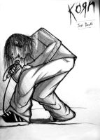 Jonathan Davis of KoRn by kryingangel72