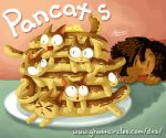 Pancats by amegoddess