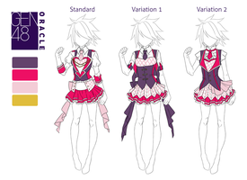 GEN48:: Female Uniform Reference by burnsgraves