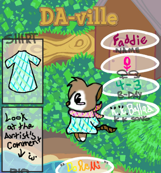 Da-Ville Reference: Faddie by Rapididous