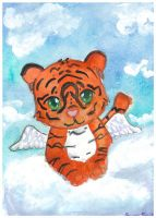 Winged Tiger by Starrydance