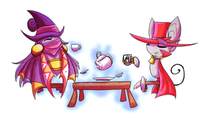 Tea Party by Kaiill