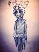 Eyeless Jack [Creepypasta] ||Traditional Art|| by AllTheLittleWonders