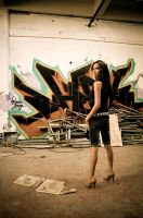Lauren Graffiti Indoor by KJ1022