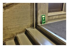 EMERGENCY EXIT FOR SPIDERMEN by wchild