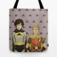 Hat-man Tote by ieindigoeast