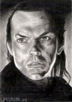 Elrond sketch card commission by jenchuan