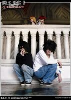 Death Note Cosplay: Wammy's Children by Redustrial-Ruin