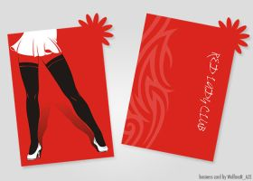 Business card for Lady Club by NamfloW
