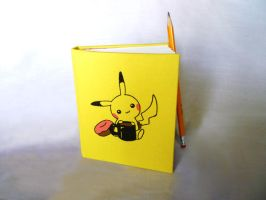 Pikachu Travel Sketchbook by meh-anne