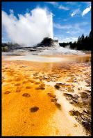 Castle Geyser by killersnowman
