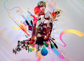 Wallpaper Kiseop by xBonbons