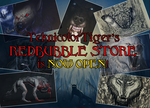 My Redbubble Is Now Open! by TeknicolorTiger
