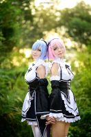 Re-zero: Twin Sister 'RAM n REM by vaxzone