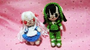 Kagerou Project Amigurumi (Mary and Seto) by OhYeahLunacchi