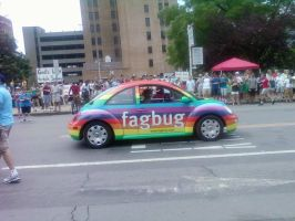 Fag Bug by Zombie-Midgey