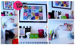 ELECTRICPOPPERS WORK SPACE by ELECTRICPOPPERS
